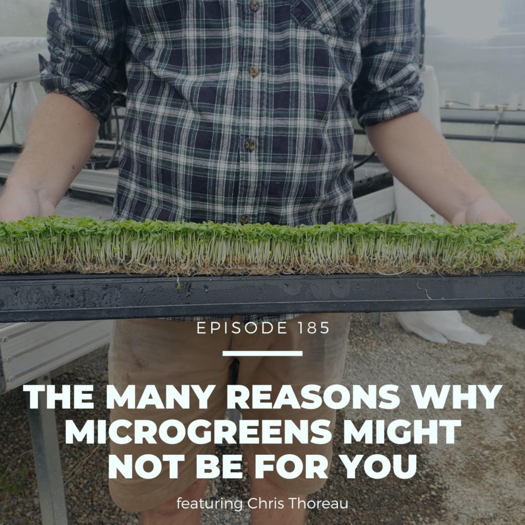 Microgreens Podcast with Chris Thoreau