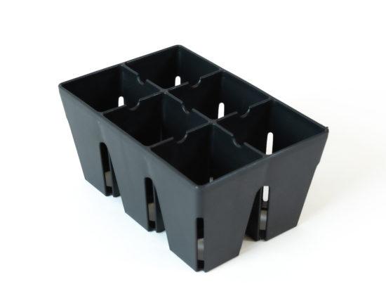 6 Pack Garden Trays